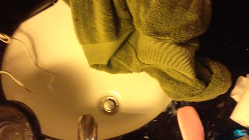 Video demons make with water drops on sink stopper - Raging demon symbol ...